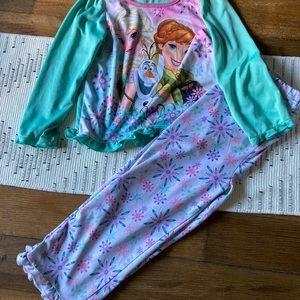 DISNEY FROZEN pajama set 4t